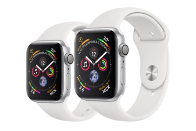 Apple Watch Series 4 GPS Silver Aluminum Case with White Sport Band – нет предела совершенству