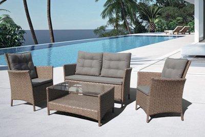 Удобная и привлекательная мебель для террасы от Афина-Гарден