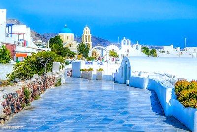 Различие мест проживания на курортах Греции