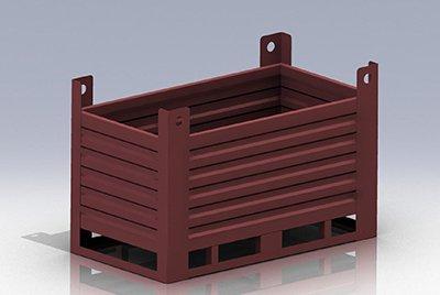 Бункеры, мульды для сыпучих материалов и подачи их в весовой дозатор