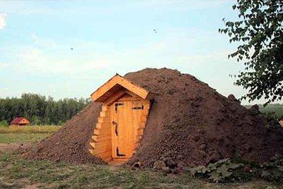 Строительство погребов в условиях высокого уровня грунтовых вод