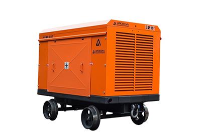 Шахтные винтовые компрессорные станции, исполнение РВ – рудничные взрывозащищенные (РВ ExdIMb)