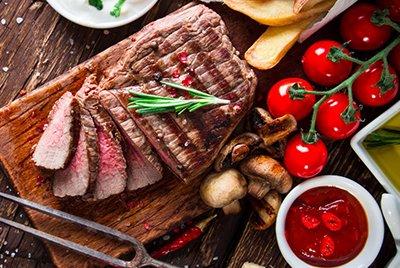 Описание категорий продукции для Мясной лавки «Meat & Pepper»