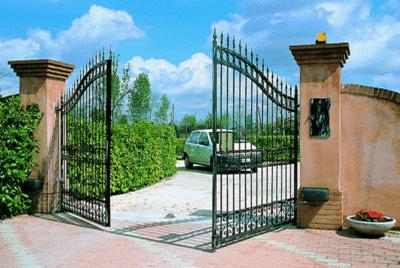 Распашные ворота Krona 310