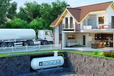 Газгольдеры СпецГаз с высокими патрубками или горловиной на заказ