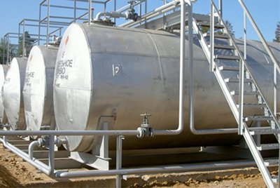 Резервуары (емкости) для светлых и темных нефтепродуктов и ГСМ