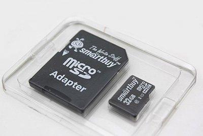 Особенности карт памяти SmartBuy micro SD