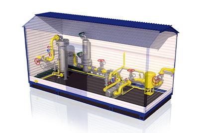 Производство блочных тепловых пунктов и узлов учета в блок-контейнере