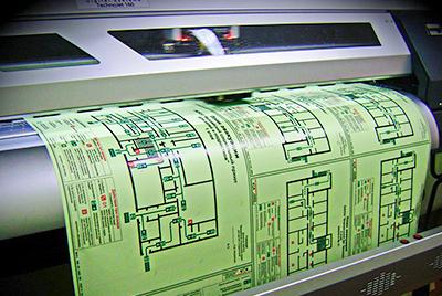 Печать плана эвакуации в соответствии с ГОСТом