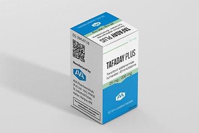 Купить Tafaday Plus (ТАФ+Эмтрицитабин), дженерик Descovy: цена в России, инструкция