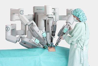 Роботическая простатэктомия (Да Винчи)