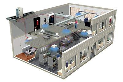 Мультисплит-системы: находка для владельцев помещений с большой площадью